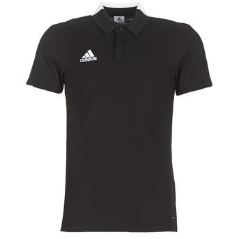 tekstylia Męskie Koszulki polo z krótkim rękawem adidas Performance CON18 CO POLO Czarny