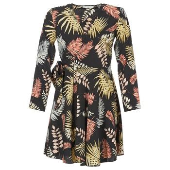 tekstylia Damskie Sukienki krótkie Betty London HYPO Czarny / Wielokolorowy