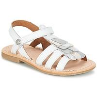 Buty Dziewczynka Sandały Aster CORELLE Biały