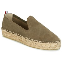Buty Damskie Espadryle 1789 Cala SLIP ON DOUBLE LEATHER Kaki