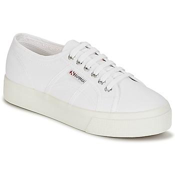 Buty Damskie Trampki niskie Superga 2730 COTU Biały