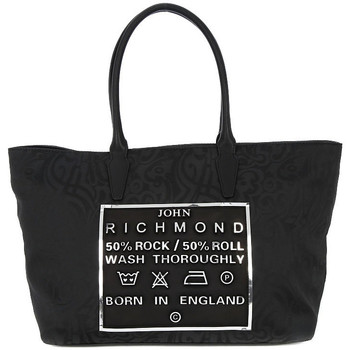Torby Damskie Torby shopper Richmond BLACK SILVER TATOO Grigio