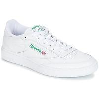 Buty Trampki niskie Reebok Classic CLUB C 85 Biały / Zielony