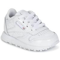 Buty Dziewczynka Trampki niskie Reebok Classic CLASSIC LEATHER PATENT Biały