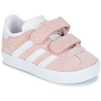 Buty Dziewczynka Trampki niskie adidas Originals GAZELLE CF I Różowy