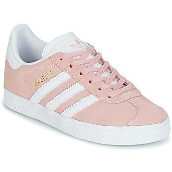 Buty Dziewczynka Trampki niskie adidas Originals GAZELLE C Różowy