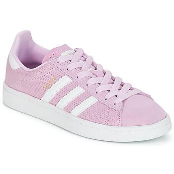 Buty Dziewczynka Trampki niskie adidas Originals CAMPUS J Różowy