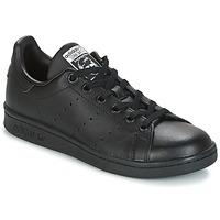 Buty Dziecko Trampki niskie adidas Originals STAN SMITH J Czarny