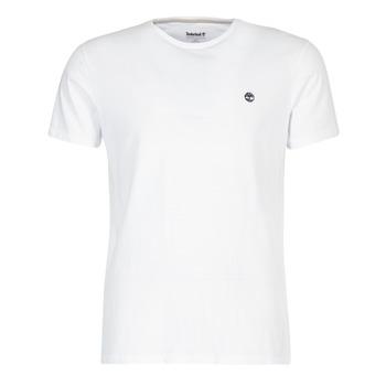 tekstylia Męskie T-shirty z krótkim rękawem Timberland SS DUNSTAN RIVER CREW TEE Biały