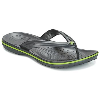 Buty Japonki Crocs CROCBAND FLIP Czarny / Zielony