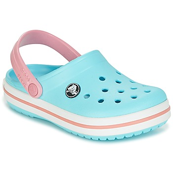 Buty Dziecko Chodaki Crocs Crocband Clog Kids Niebieski / Różowy