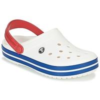 Buty Chodaki Crocs CROCBAND Biały / Niebieski / Czerwony
