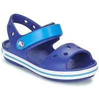 Buty Chłopiec Sandały Crocs CROCBAND SANDAL KIDS Niebieski