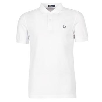 tekstylia Męskie Koszulki polo z krótkim rękawem Fred Perry THE FRED PERRY SHIRT Biały