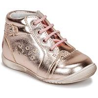Buty Dziewczynka Trampki niskie GBB SIDONIE Różowy / Dore