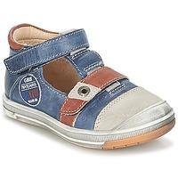 Buty Chłopiec Sandały GBB SOREL Marine / Brązowy