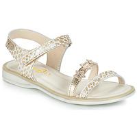 Buty Dziewczynka Sandały GBB SWAN Biały / Złoty