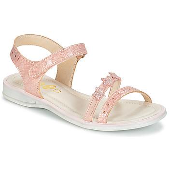 Buty Dziewczynka Sandały GBB SWAN Różowy