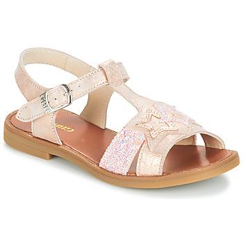Buty Dziewczynka Sandały GBB SHANTI Różowy
