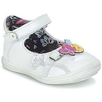 Buty Dziewczynka Baleriny Catimini SITELLE Biały