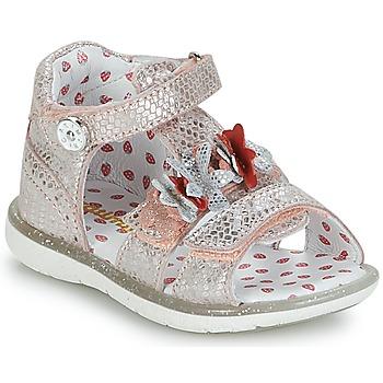 Buty Dziewczynka Sandały Catimini STEVIA Różowy