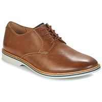 Buty Męskie Derby Clarks ATTICUS LACE Tan / Leather