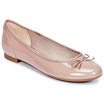 Buty Damskie Baleriny Clarks COUTURE BLOOM Nude / Parme