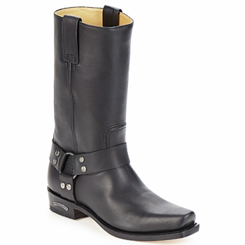 Buty Męskie Kozaki Sendra boots EDDY Czarny