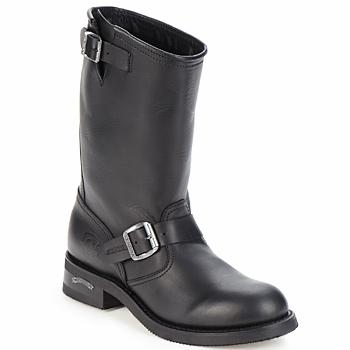 Buty Męskie Buty za kostkę Sendra boots OWEN Czarny