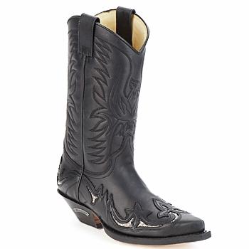 Kozaki i kalosze Sendra boots CLIFF Czarny 350x350