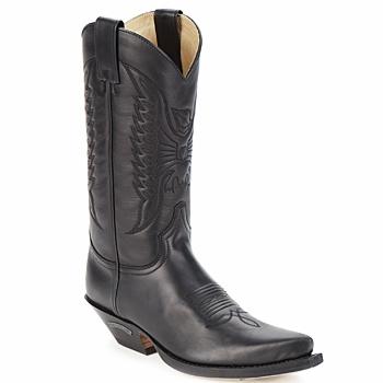 Kozaki i kalosze Sendra boots FLOYD Czarny 350x350