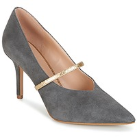 Buty Damskie Czółenka KG by Kurt Geiger V-CUT-MID-COURT-WITH-STRAP-GREY Szary