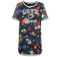 tekstylia Damskie Sukienki krótkie Love Moschino W5A0302 Czarny / Wielokolorowy