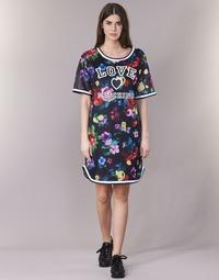 tekstylia Damskie Sukienki krótkie Love Moschino W5A0302 Czarny / Wielokolorowe