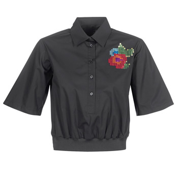 tekstylia Damskie Koszule Love Moschino WCC5401 Czarny