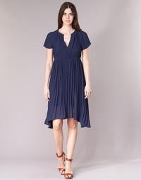 tekstylia Damskie Sukienki krótkie See U Soon 8121119 Marine