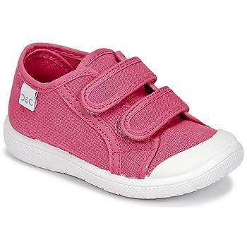 Buty Dziewczynka Trampki niskie Citrouille et Compagnie GLASSIA Różowy