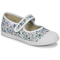 Buty Dziewczynka Baleriny Citrouille et Compagnie APSUT Niebieski / Biały