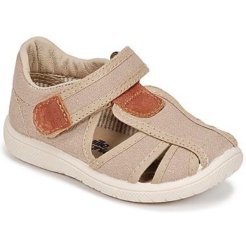 Buty Chłopiec Sandały Citrouille et Compagnie GUNCAL Beżowy
