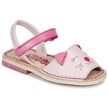 Buty Dziewczynka Sandały Citrouille et Compagnie ILOUDFI Różowy