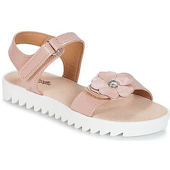 Buty Dziewczynka Sandały Citrouille et Compagnie ILODO Różowy