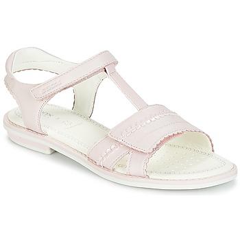 Buty Dziewczynka Sandały Geox J S.GIGLIO A Różowy