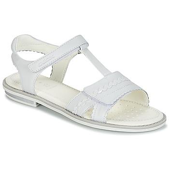 Buty Dziewczynka Sandały Geox J S.GIGLIO A Biały