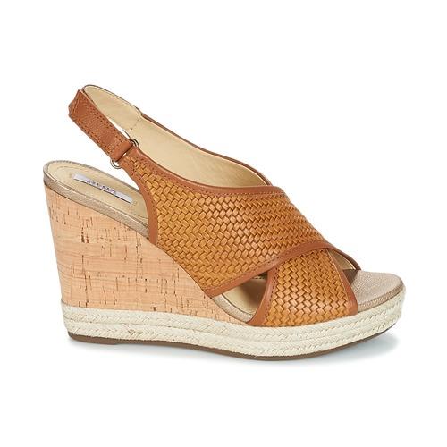 JANIRA C  Geox  sandały  damskie  brązowy
