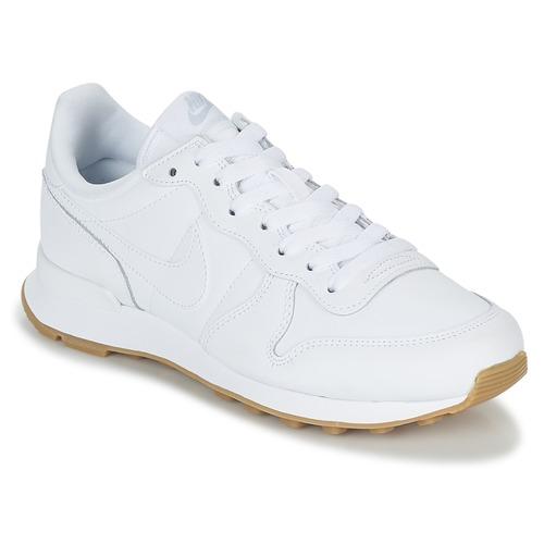 Buty Damskie Trampki niskie Nike INTERNATIONALIST W Biały