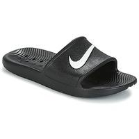 Buty Damskie klapki Nike KAWA SHOWER SANDAL W Czarny / Biały