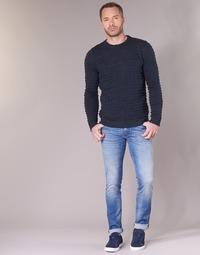 tekstylia Męskie Jeansy slim fit Sisley BURLUDU Niebieski / Medium