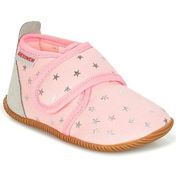Buty Dziewczynka Obuwie domowe Giesswein SALSACH Różowy
