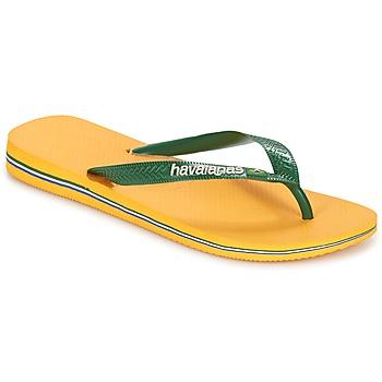 Buty Japonki Havaianas BRAZIL LOGO Żółty