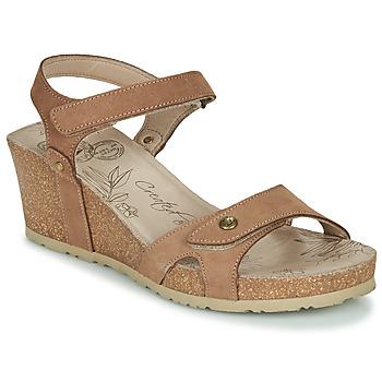 Buty Damskie Sandały Panama Jack JULIA Brązowy